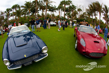 Ferrari 250 GT Zagato and Ferrari 575 GTZ Zagato