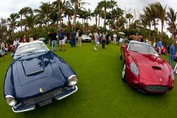 Ferrari 250 GT Zagato and Ferrari 575 GTZ Zagato