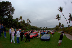 Ambiance at the Concorso d'Eleganza on the Lawn at The Breakers