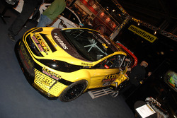 Ford Fiesta Rally Car on the Mountune Stand