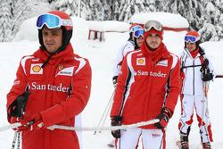 Felipe Massa, Scuderia Ferrari, Jules Bianchi, test driver Scuderia Ferrari