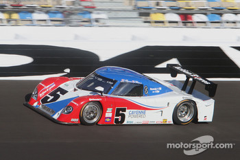 #5 Action Express Racing Porsche-Riley: David Donohue, Burt Frisselle, Darren Law, Buddy Rice