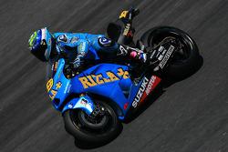 Alvaro Bautista of Rizla Suzuki MotoGP