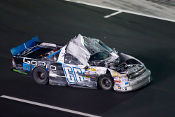 Justin Marks, Turn One Racing Chevrolet after his crash