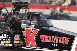 David Grubnic in his Kalitta Air Top Fuel Dragster