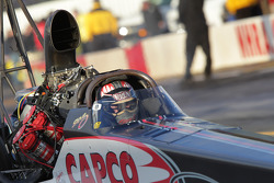 Steve Torrence in his Capco Racing / Tuttle Motorsports Top Fuel Dragster