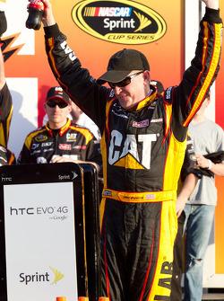 Victory lane: race winner Jeff Burton, Richard Childress Racing Chevrolet celebrates