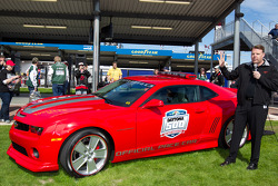 Unveling of the 2011 Daytona 500 Chevrolet Camaro SS pace car