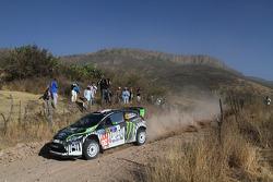 Ken Block and Alex Gelsomino, Ford Fiesta WRC, Monster World Rally Team