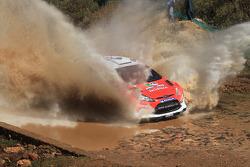 Evgeny Novikov and Stéphane Prevot, Ford Fiesta RS WRC