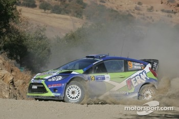 Denis Kuipers and FrÈdÈric Miclotte, Ford Fiesta WRC