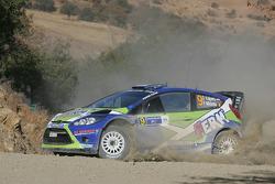 Denis Kuipers and FrÈdÈric Miclotte, Ford Fiesta WRC