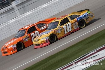 Kyle Busch and Joey Logano, Joe Gibbs Racing Toyota