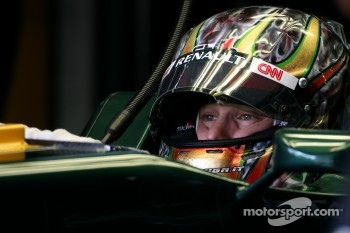 Davide Valsecchi, test driver, Lotus F1 Team