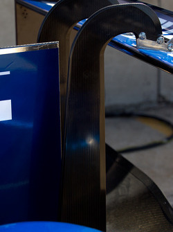 Peugeot Sport Total Peugeot 908 rear wing detail