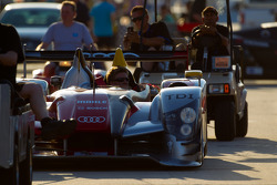#2 Audi Sport Team Joest Audi R15+ back from technical inspection