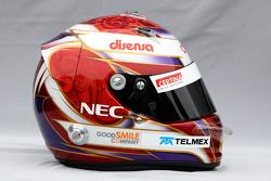 Helmet of Kamui Kobayashi, Sauber F1 Team