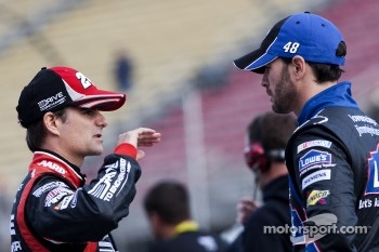 Jeff Gordon and Jimmie Johnson, Hendrick Motorsports Chevrolet