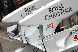 Force India F1 Team, front wings