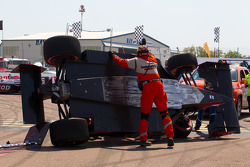Marco Andretti, Andretti Autosport after the start crash