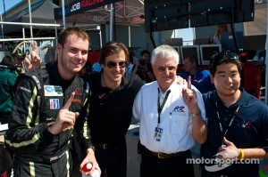 Alex Job with 2011 drivers
