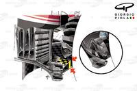 Formule 1 Foto's - Ferrari SF16H diffuser, Hongarije
