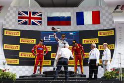 Sergey Sirotkin, ART Grand Prix, Jordan King, Racing Engineering und Norman Nato, Racing Engineering