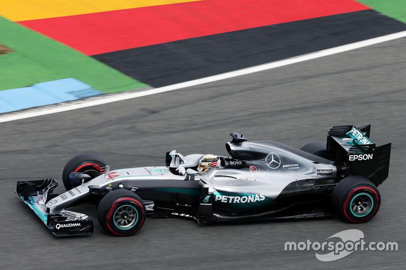 Deutschland, Hockenheim: Lewis Hamilton (Mercedes)