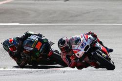 Scott Redding, Octo Pramac Racing; Bradley Smith, Monster Yamaha Tech 3