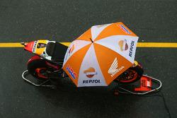 Bike of Marc Marquez, Repsol Honda Team in the pitlane