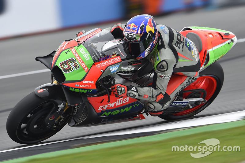 17. Stefan Bradl, Aprilia Racing Team Gresini