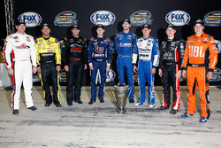 Chase contenders: Timothy Peters, Red Horse Racing Toyota, Matt Crafton, ThorSport Racing Toyota, Johnny Sauter, GMS Racing Ford, William Byron, Kyle Busch Motorsports Toyota, Ben Kennedy, GMS Racing Chevrolet, Daniel Hemric, Brad Keselowski Racing Ford, J