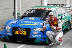 Polesitter, Edoardo Mortara, Audi Sport Team Abt Sportsline, Audi RS 5 DTM