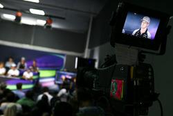 Nico Hülkenberg, Sahara Force India F1 in der FIA Pressekonferenz