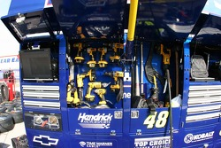 War wagon tools for Jimmie Johnson