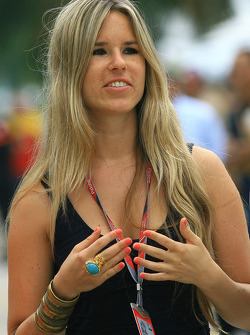 F1: Vivian Sibold, Nico Rosberg girlfriend