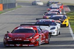 Ferrari 458 Italia GT3: Fabio Mancini, Niki Cadei