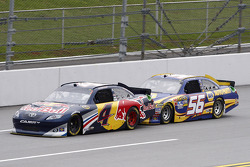 Kasey Kahne, Red Bull Racing Team Toyota and Martin Truex Jr., Michael Waltrip Racing Toyota