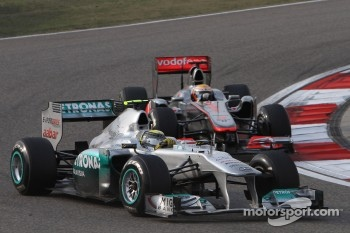 Rosberg the star of the show today in China