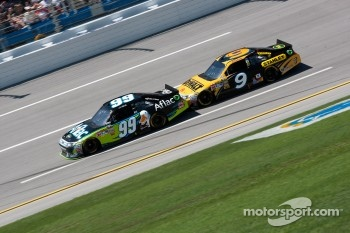Carl Edwards, Roush Fenway Racing Ford, Marcos Ambrose, Petty Motorsport Ford
