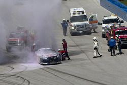 Kasey Kahne, Red Bull Racing Team Toyota wrecks