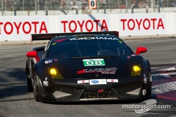#08 West Yokohama Racing Lamborghini Gallardo LP 560-4: Nicky Pastorelli, Dominik Schwager