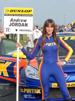 Andrew Jordan's Grid Girl