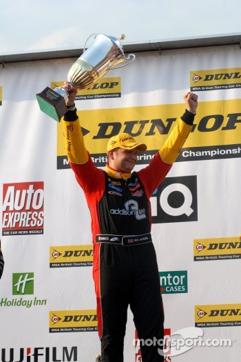Race Winner Mat Jackson, Airwaves Racing