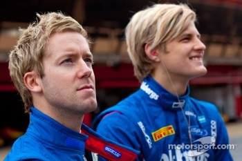Sam Bird and Marcus Ericsson