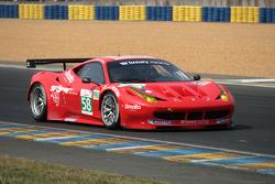 #58 Luxury Racing Ferrari 458 Italia: Anthony Beltoise, François Jakubowski