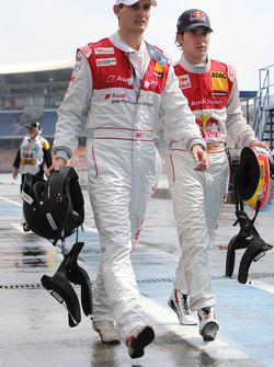 Oliver Jarvis, Audi Sport Team Abt, Audi A4 DTM and Miguel Molina, Audi Sport Team Team Abt Junior, Audi A4 DTM