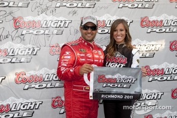 Polesitter Juan Pablo Montoya, Earnhardt Ganassi Racing Chevrolet
