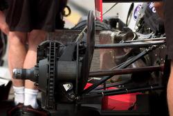 Detail of a disk brake