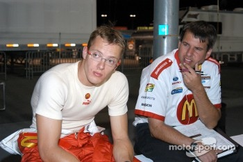 Sébastien Bourdais and Craig Hampson